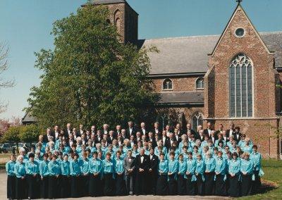 1888 Oprichting St. Caeciliakoor in Gerwen