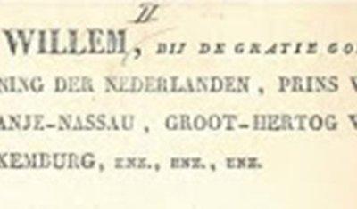 1821 Vorming gemeente Nuenen, Gerwen en Nederwetten