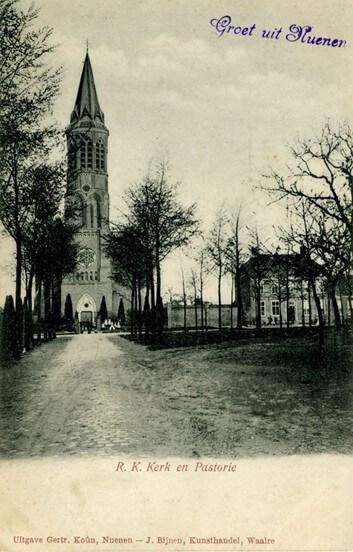 1872 Bouw van de (5e) Nuenense Clemenskerk