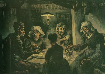 1883-1885 Vincent van Gogh in Nuenen