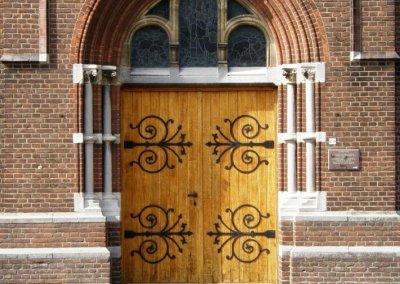1896 Bouw Sint Lambertuskerk in Nederwetten