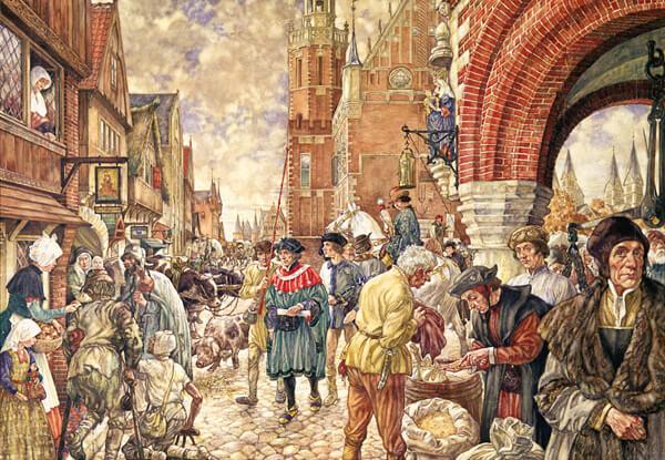 Archeologie Algemeen Nuenen in de Late Middeleeuwen