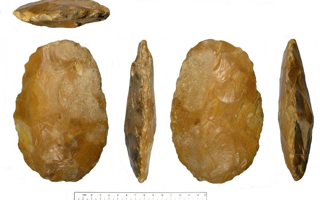 Archeologie Algemeen Nuenen in het Paleolithicum