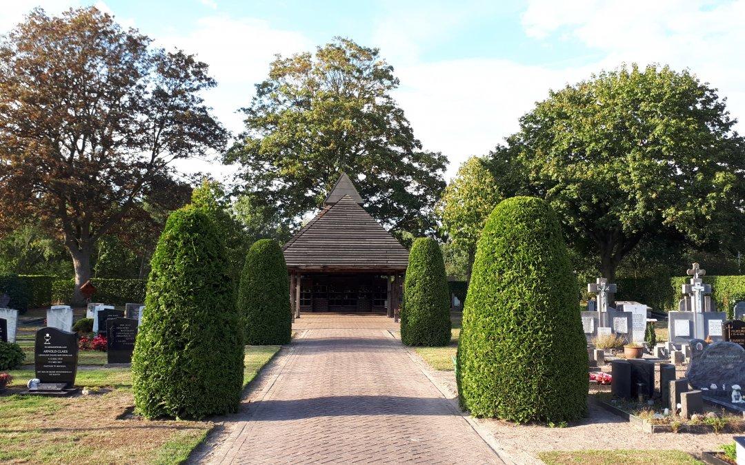 Historie van de RK begraafplaats 'De Huikert' te Gerwen