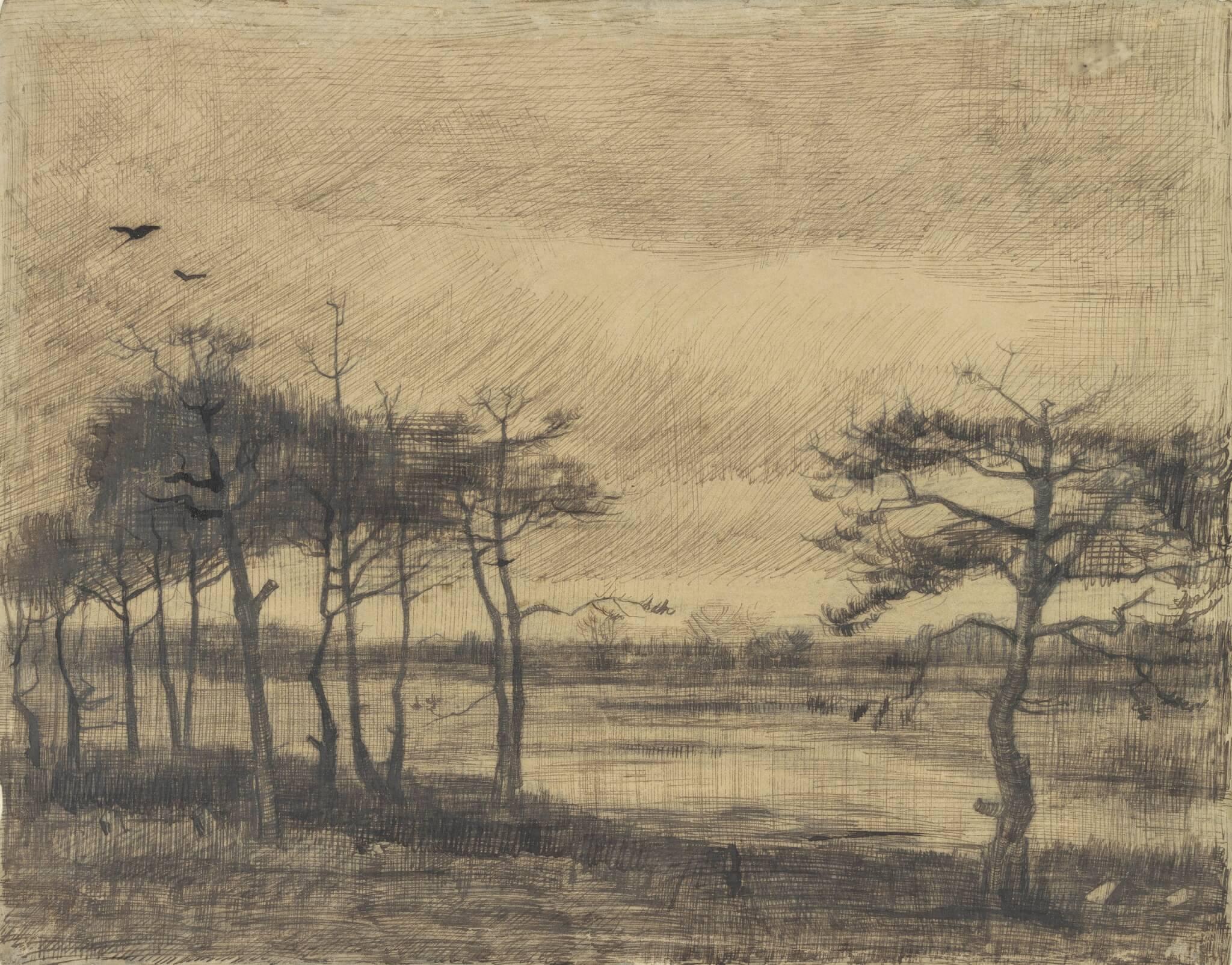 Het verloren zandpad van Vincent van Gogh