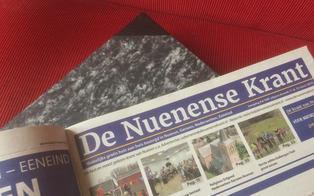 Ingebonden jaargang van De Nuenense Krant