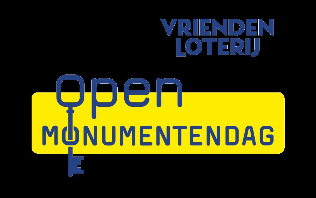 Open Monumentenweekend 11 en 12 september